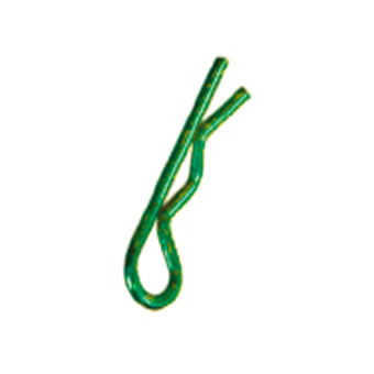 Colourful Body Clips Small (Green)
