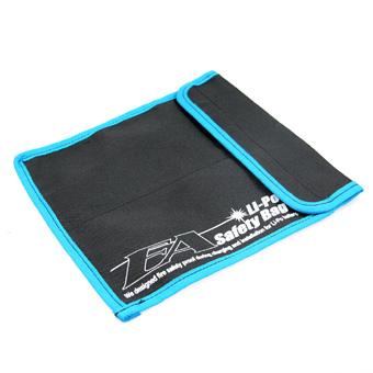 Eagle Racing Li-Po Safety Bag 220x200mm 2 x 95mm Pockets