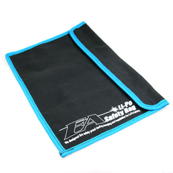 Eagle Racing Li-Po Safety Bag 220x300mm 3 x 95mm Pockets