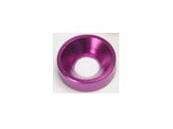 Small M3 Bevel Washer Purple (10 pcs)