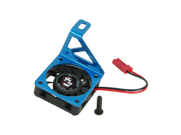 3 Racing Blue Aluminium Motor Heatsink with Cooling Fan for Tamiya M03