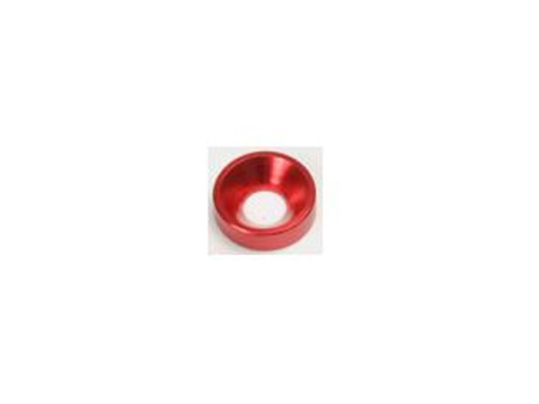Small M3 Bevel Washer Red