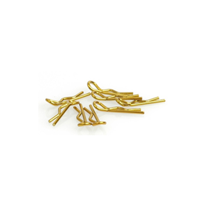 CR062 - Small Body Clip 1/10 - Gold (8)