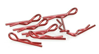 CR067 - Small Body Clip 1/10 - Metallic Red (8)