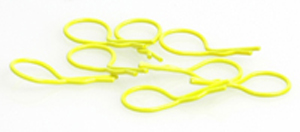 CR073 - Big Body Clip 1/10 - Fluorescent Yellow (8)