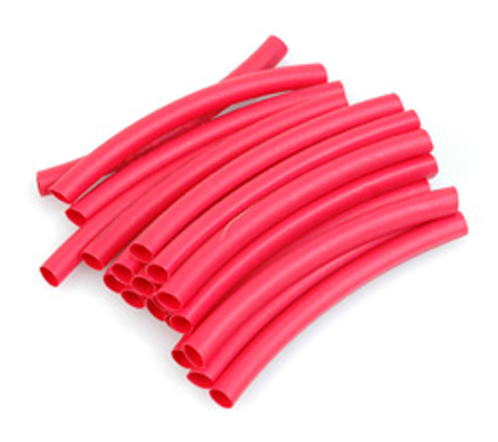 Heatshrink 6.0mm dia Red - 10pcs