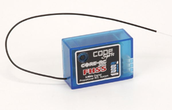 Core RC CODE 2.4G FHSS Sport - Rx Only