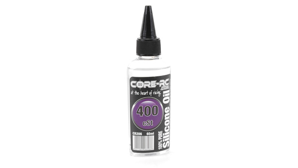CR206 - CORE R/C Silicone Oil - 400 cSt - 60ml