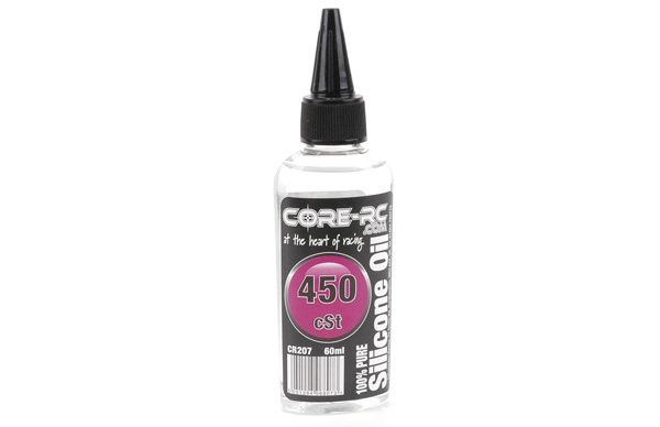 CR207 - CORE R/C Silicone Oil - 450 cSt - 60ml