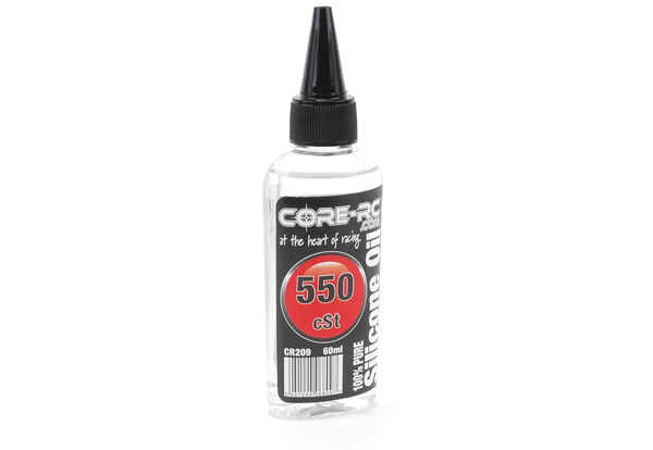 CR209 - CORE R/C Silicone Oil - 550 cSt - 60ml