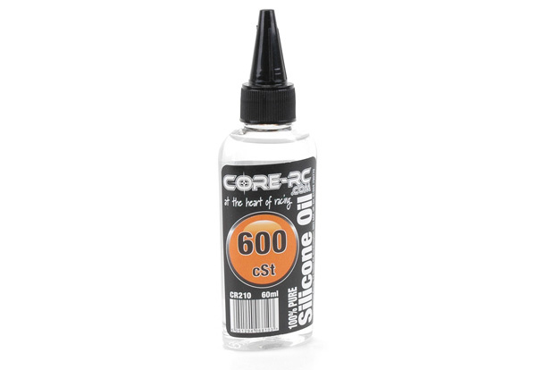CR210 - CORE R/C Silicone Oil - 600 cSt - 60ml