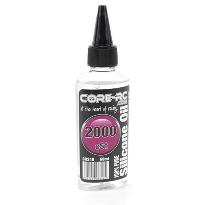CR216 - CORE R/C Silicone Oil - 2000 cSt - 60ml