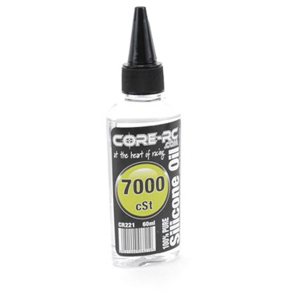CR221 - CORE R/C Silicone Oil - 7000 cSt - 60ml