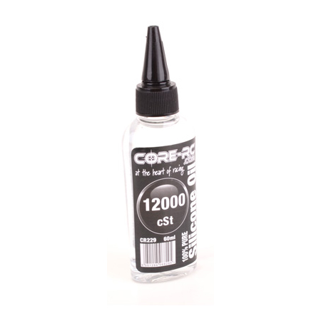 CR229 - CORE R/C Silicone Oil - 12000 cSt - 60ml