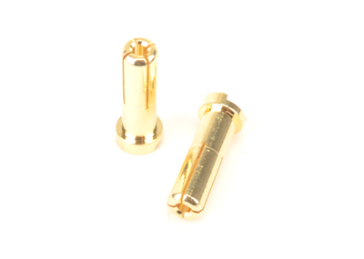 5mm Plug Flat Type - 2pcs