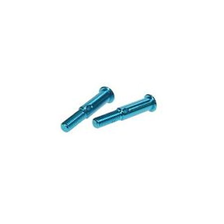 3 Racing Aluminum Rear Axles for Tamiya M03 (2 pk)