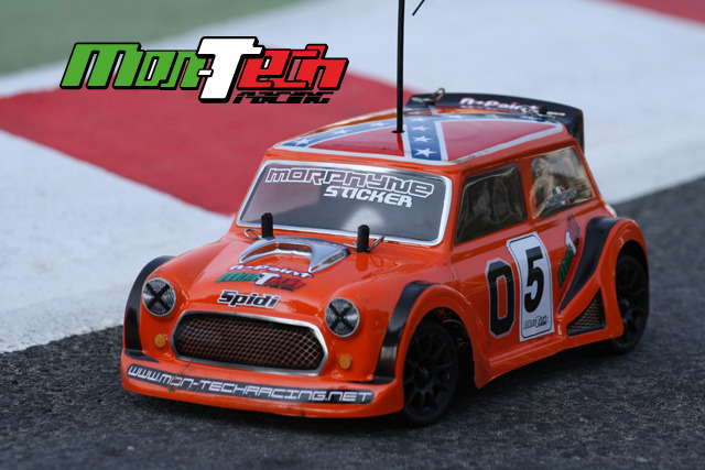 Montech Turbo Spidi - 1/10 Body - Tamiya Mini
