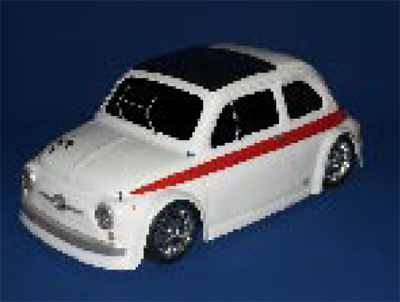 Montech 595 Sport - 1/10 Body for Tamiya Mini