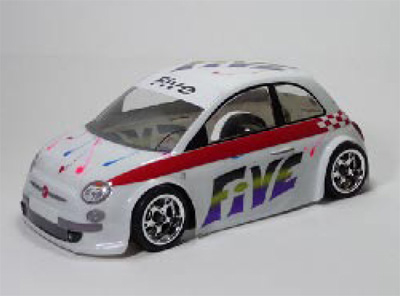 Montech 5 - 1/10 Body for Tamiya Mini