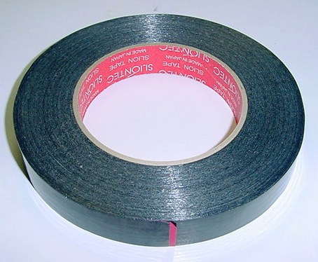 Fiberglass Filament Strapping Tape (50m x 17mm)(Black)