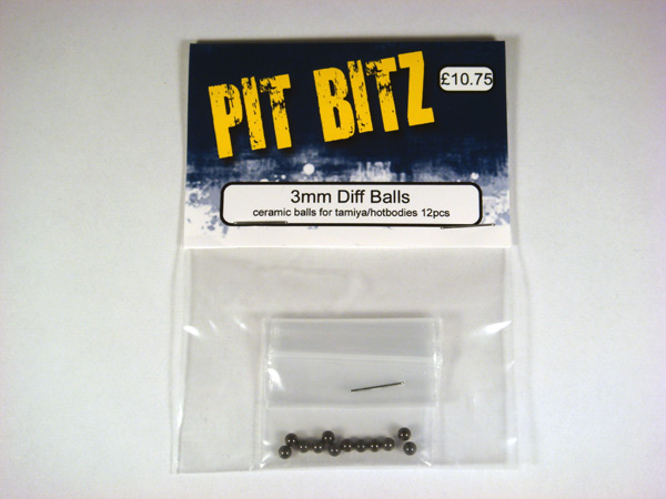 Pit Bitz 3mm Diff Balls - Ceramic