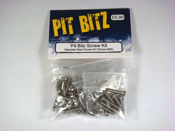 Pit Bitz Stainless Steel Screw Kit - (ARC R10 2015)