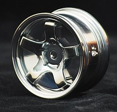 Sweep Mini 5 Spoke Wheel Type A (Silver)