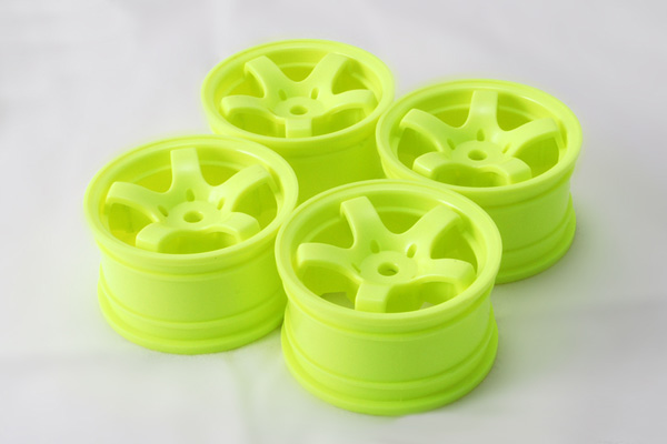 Sweep Mini 5 Spoke Wheel Type A (Yellow)