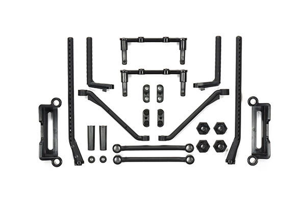 Tamiya (#51595) - M07 Body Mounts A Parts Black