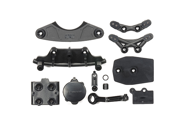 Tamiya (#51596) - M07 Bumpers B Parts Black