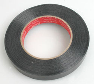 Core RC Fiberglass Filament Tape (Black)