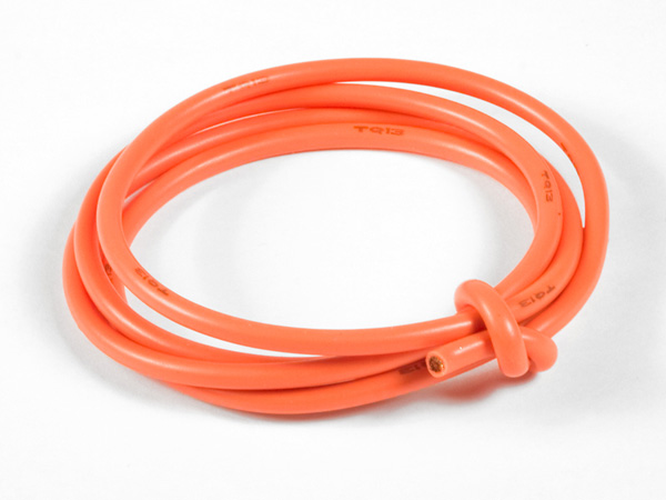 TQ Racing 13awg Power Wire - 3ft - Orange
