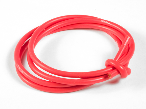 TQ Racing 13awg Power Wire - 3ft - Red