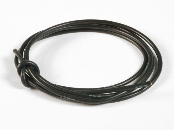 TQ Racing 16awg Power Wire - 3ft - Black