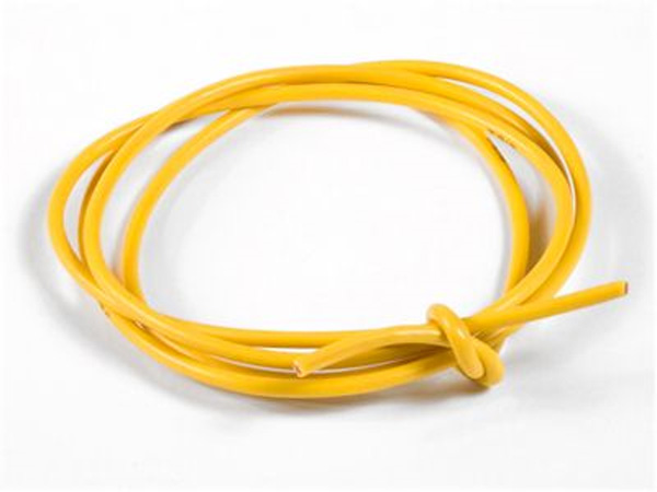 TQ Racing 16awg Power Wire - 3ft - Yellow