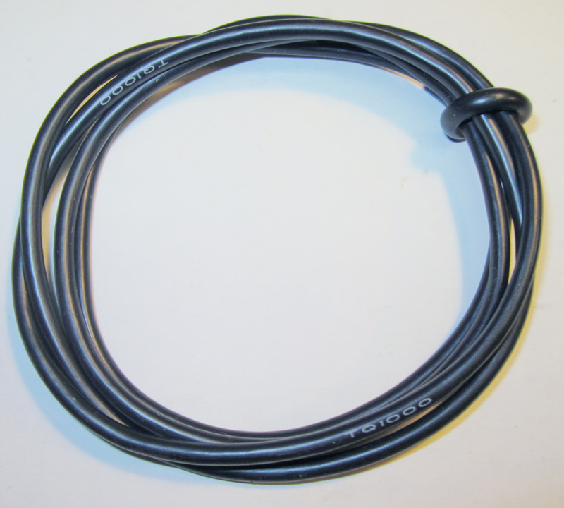 TQ Racing TQ1000 14awg Power Wire - 3ft - Black