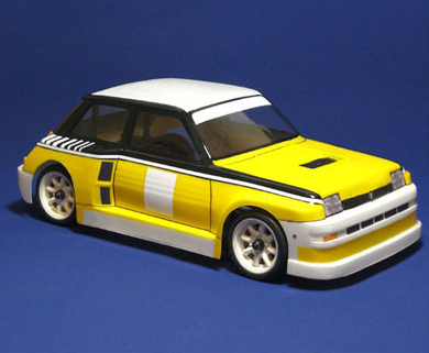 Montech Turbo 5 - 1/10 Body for Tamiya Mini