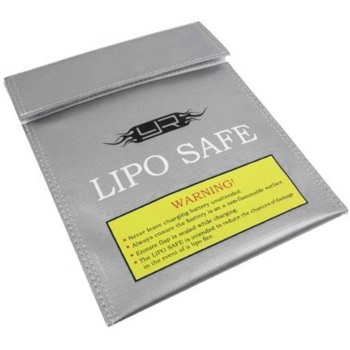 Yeah Racing Lipo Battery Safe Guard Charging Bag (215mm x 180mm)