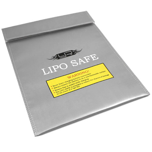 Yeah Racing Lipo Battery Safe Guard Charging Bag (300mm x 230mm)